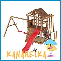 Детские площадки из дерева Лидер 20