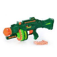 "Пулемет детский ""Штурм Болтер"" с мягкими снарядами (пули, присоски), на батарейках, арт. 7002"