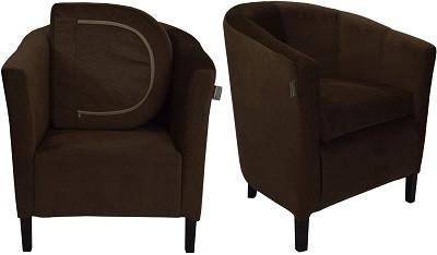 Кресло Бафи темно-коричневое - картинка