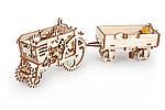 Прицеп | UGEARS | Механический 3D конструктор из дерева, фото 6