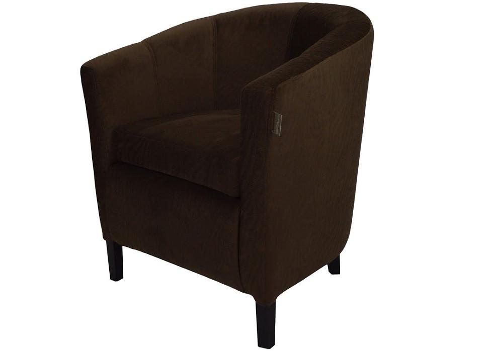 Кресло Бафи темно-коричневое Rich