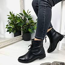 Ботинки для девочек демисезонные из натуральной кожи, фото 3