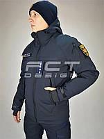 Куртка бушлат Патрол Софтшелл зимний для ДСНС/ ГСЧС, фото 1