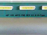 """Модуль підсвічування 49"""" V15 ART3 FHD REV 0.1 6 (L_R)-Type (матриця LC490EUE-FHM1)., фото 3"""