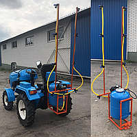 Опрыскиватель АТВ-50 (50 л, компрессорный, 35 л/мин., захват 4,5 м) для мотоблока, мототрактора, фото 1