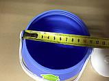 Бидон для пищевых продуктов 3 л / голубой, фото 2
