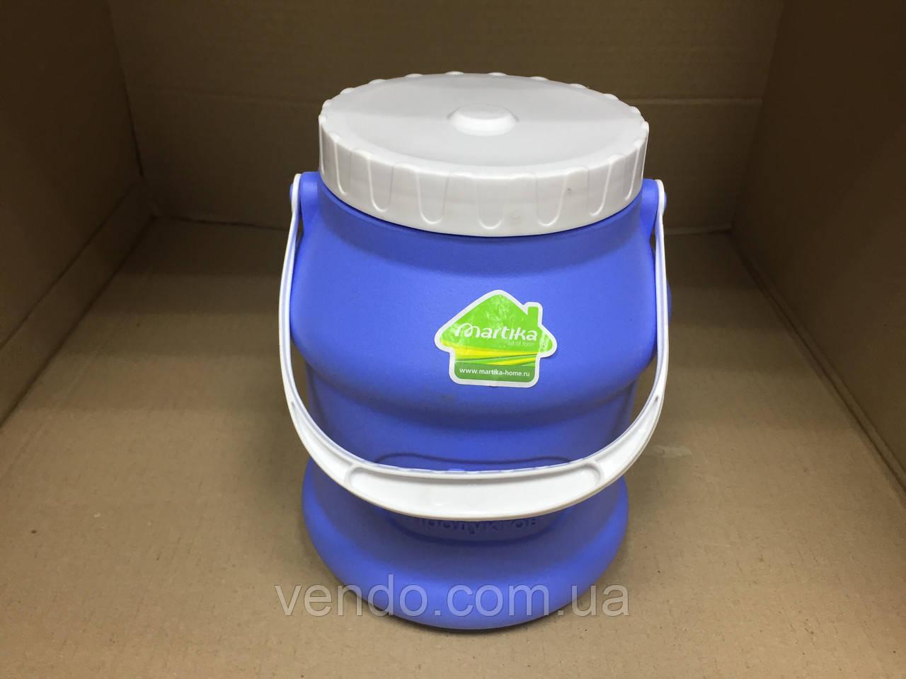 Бидон для пищевых продуктов 3 л / голубой