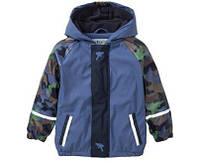 Водонепроницаемая куртка синяя Lupilu Германия р.110/116см