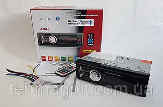 Автомагнитола A606 (USB/FM/AUX/Bluetooth/1 din)в стиле Sony