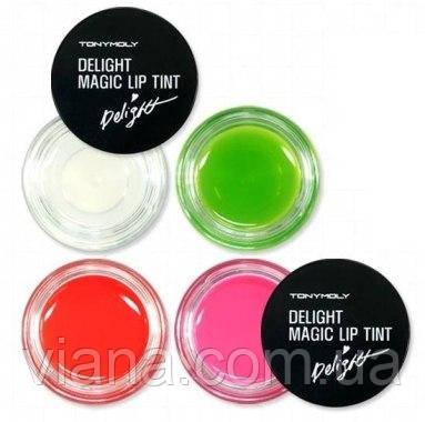 Ягодный блеск-тинт для губ TONY MOLY Delight Magic Lip Tint №3 - Красный