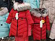 Детское зимнее пальто  на девочку Афина  нью вери (Nui Very), фото 6