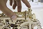 Трактор | UGEARS | Механический 3D конструктор из дерева, фото 3