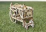 Трактор | UGEARS | Механический 3D конструктор из дерева, фото 5
