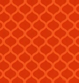 Светоотражающая флуоресцентная оранжевая пленка (Соты) - ORALITE 6910 Brilliant Grade Orange 1.235 м