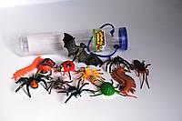 Комахи та рептилії в тубусі
