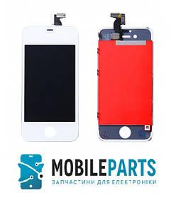 Дисплей для iPhone 4 | 4g с сенсорным стеклом (Белый) Оригинал Китай, Tianma