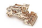 Комбайн   UGEARS   Механический 3D конструктор из дерева, фото 5