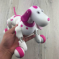 Собака робот 777 338 на радиоуправлении с аккумулятором Robot Dog Интерактивная игрушка для детей