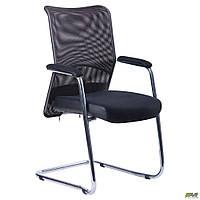 Крісло Аеро CF хром сидіння сітка Чорна, Неаполь N-20 / сітка чорна Спинка TM AMF