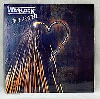 CD диск Warlock - True as steel
