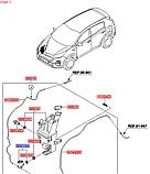 Мотор омивача вітрового скла кіа Спортейдж 4, KIA Sportage 2016-20 QLe, 985102w500, фото 7