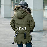 """Зимняя курточка для мальчика на флисовой подкладке """"Суприм"""", фото 4"""