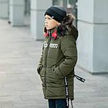 """Зимняя курточка для мальчика на флисовой подкладке """"Суприм"""", фото 5"""