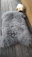 Овечья шкура - овечьи шкуры - шкура овцы (ворс средней длины)Серая, фото 1