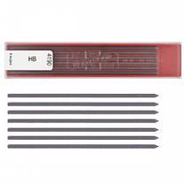Стержни к цанговых карандашей KOH-I-NOOR 4190 (НВ) 0 5мм 12шт в пласт. короб. (1/12)