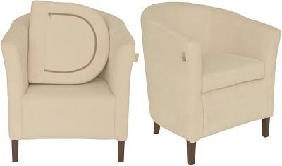 Кресло Бафи молочное - картинка