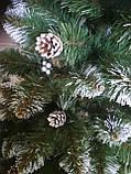 Ель искусственная с шишками и калиной 1,8 м, фото 6