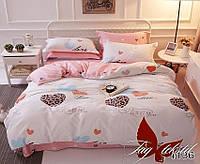 ✅ Двуспальный комплект постельного белья (Ранфорс) TAG R4136