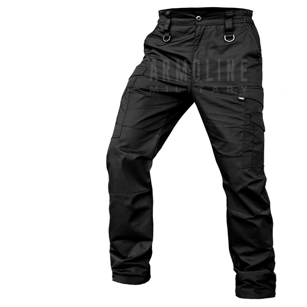 """Лёгкие тактические брюки """"ALPHA PRO"""" BLACK. Размер XXXL(Regular)"""