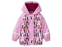 Куртка грязепруф, водонепроницаемая розовая Lupilu (Германия) р. 86/92, 98/104см