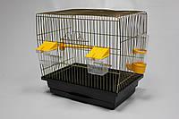 Клетка для канареек Канар (330х230х310) золото
