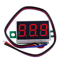 Вольтметр 0 - 200В, 0.36 LED, Красный