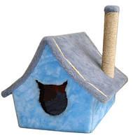 Когтеточка домик драпак для кошек Мурчик
