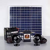 Звуковой отпугиватель птиц Коршун solar с солнечной панелью