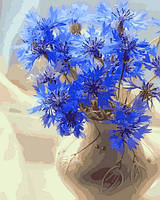 Картины по номерам 40×50 см. Хризантемы