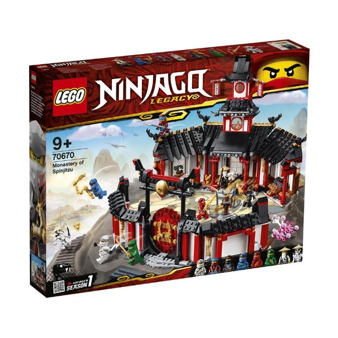 Конструктор LEGO Ninjago «Монастир спін-джитсу» 70670