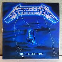 CD диск Metallica - Ride the Lightning