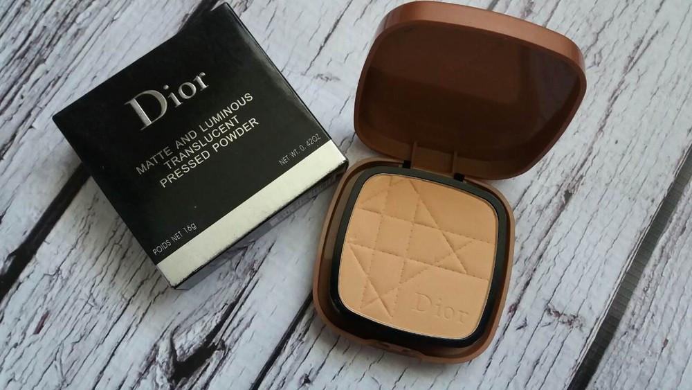 Компактная пудра Dior Matte and Luminous Translucent (Диор Матте энд Люминоус Транслусент)