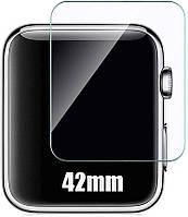 Защитное стекло Apple Watch 42mm (Прозрачное 2.5 D 9H)