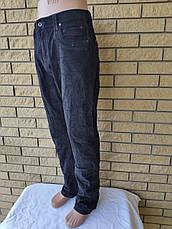 Джинсы мужские  микровельветовые стрейчевые больших размеров GOVIBOSS, Турция, фото 2