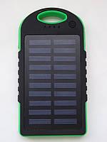 Павербанк Solar PowerBank 45000mah с солнечной зарядкой Черный/зеленый