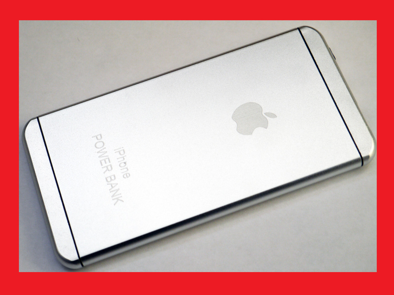 Ipower 16000 mAh Power Ban iPhone 6 style 1xUSB тонкий корпус металл