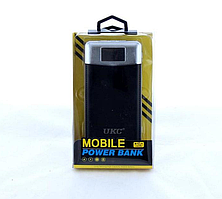 Power Bank UKC 38000 mAh+2 USB+LED-екран+Ліхтар
