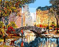 Картины по номерам 40×50 см. Прогулка по Центральному парку Художник Ричард Макнейл, фото 1