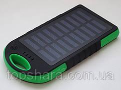 Портативний зарядний пристрій PowerBank (Solar 2X1A USB)