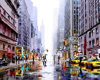 Картины по номерам 40×50 см. Нью-Йорк Художник Ричард Макнейл, фото 1